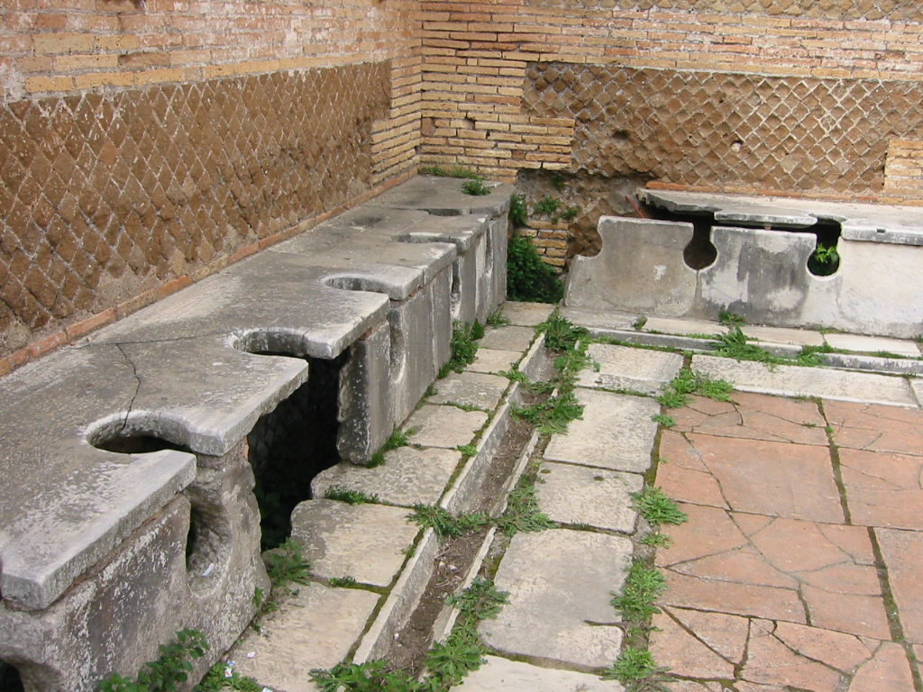 Ancient Links: Plumbing and Toilets in Ancient Rome.