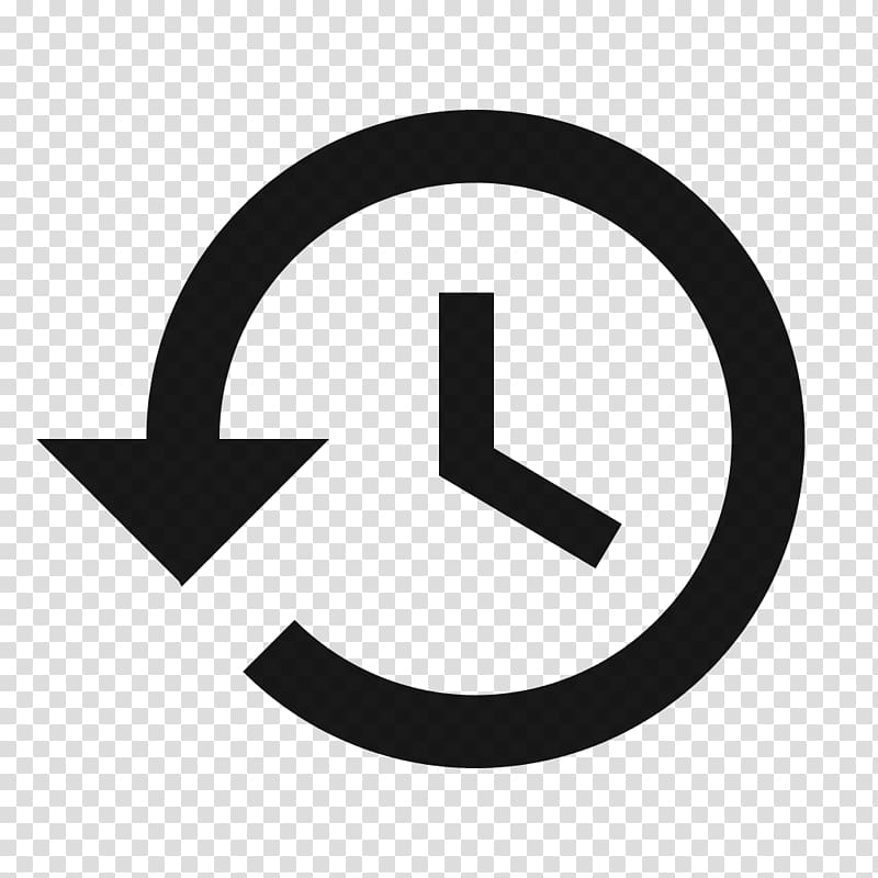 Computer Icons History Symbol, previous button transparent.