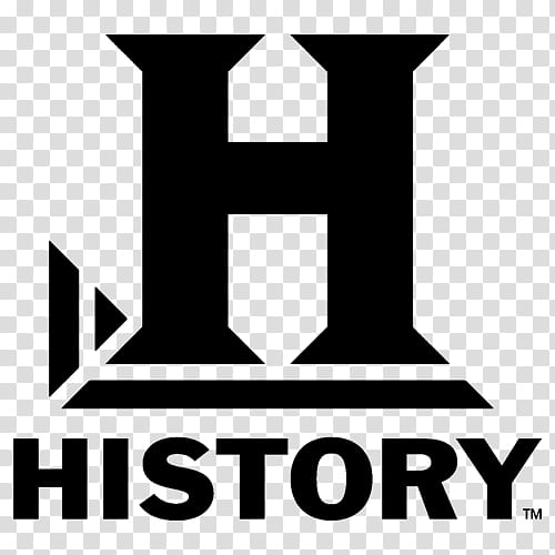 TV Channel icons , history_black, black History logo.