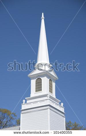 Church Steeple Stock Photos, Royalty.