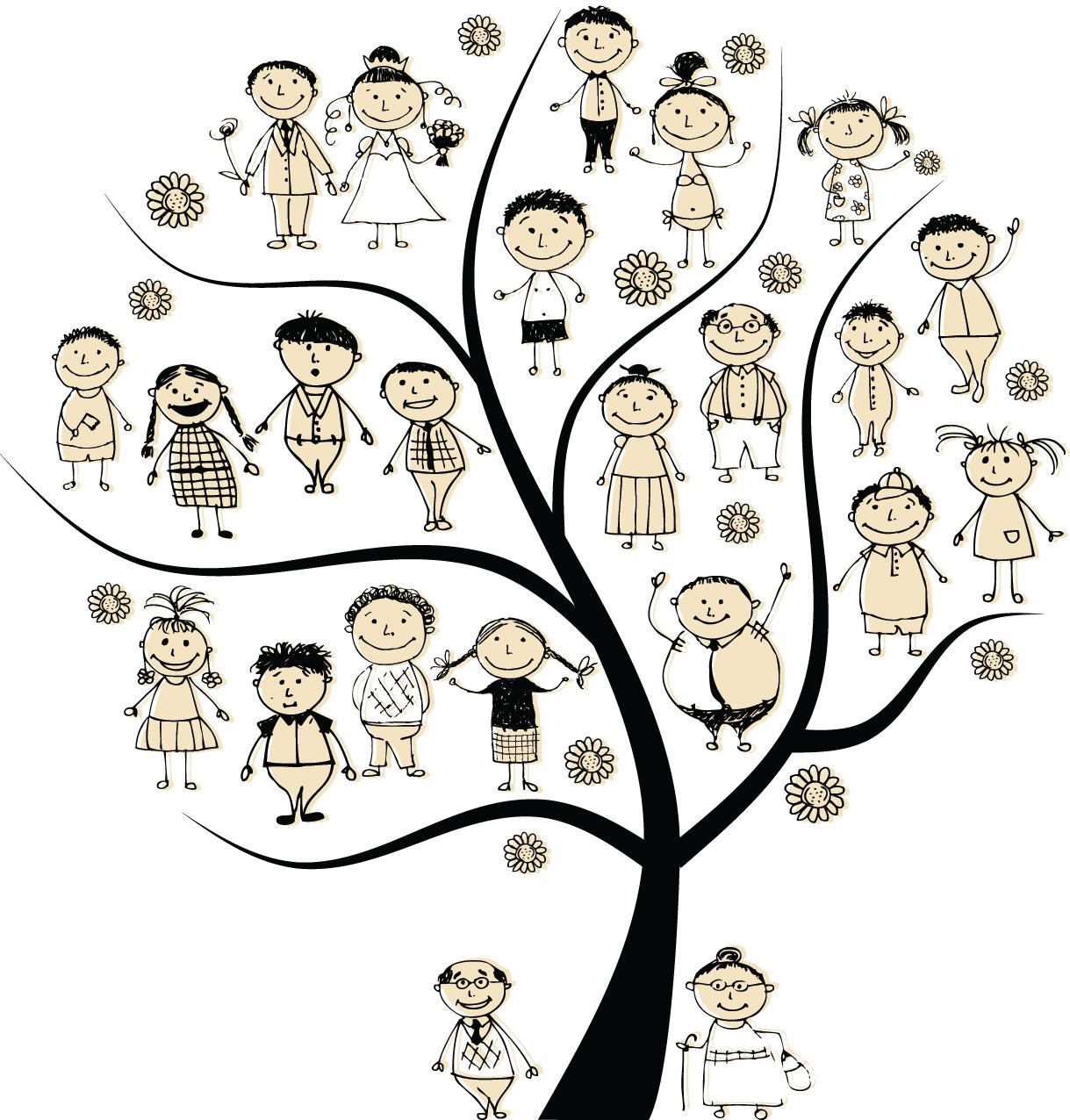 Family Health History Clipart.