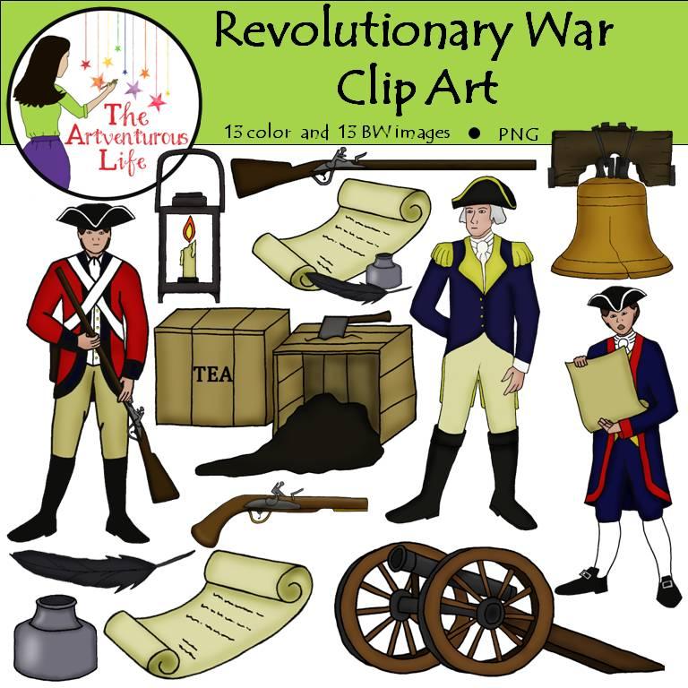 Revolutionary War Clip Art.