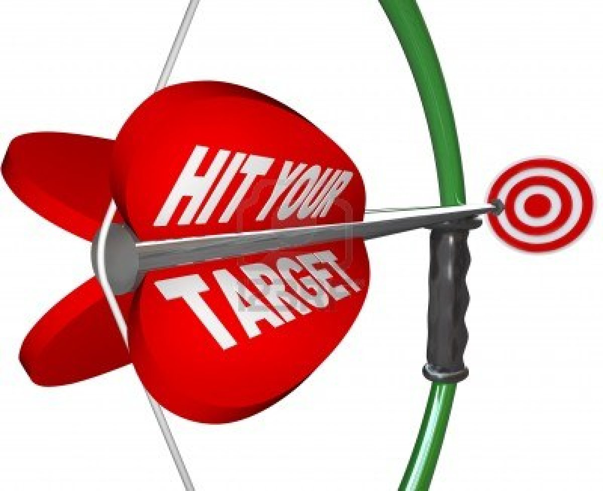 Hit The Target Clipart.