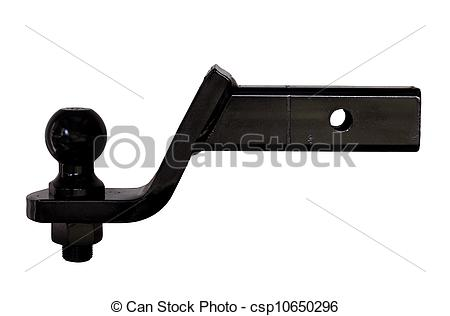 Stock Photographs of trailer hitch.