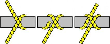 hitch clipart #knot_illustration_clove_hitch_clip_art_17924.