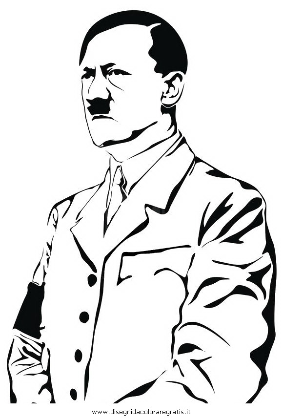 how to draw adlof hitler