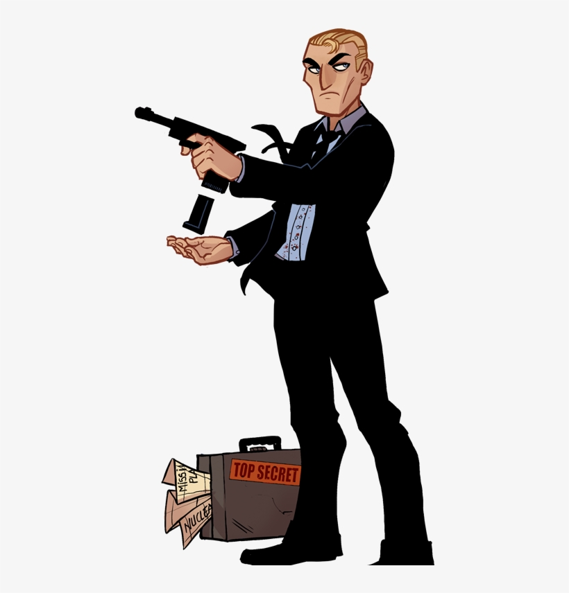 James Bond Clipart Hitman.