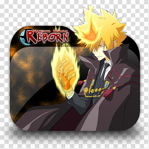 Katekyo Hitman Reborn Anime Folder Icon, Reborn file folder.