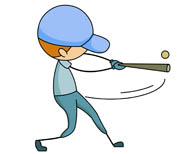 Hit The Ball Clipart.