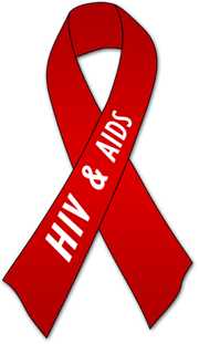 Hiv ribbons clipart.