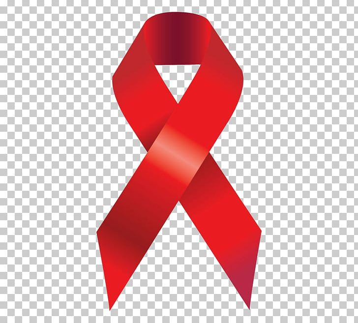 Epidemiology Of HIV/AIDS Red Ribbon World AIDS Day PNG.