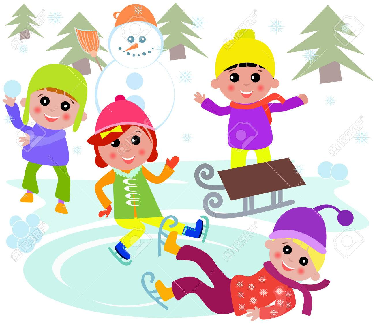 Hiver clipart 4 » Clipart Station.