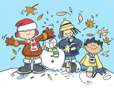 Clipart hiver 1 » Clipart Station.