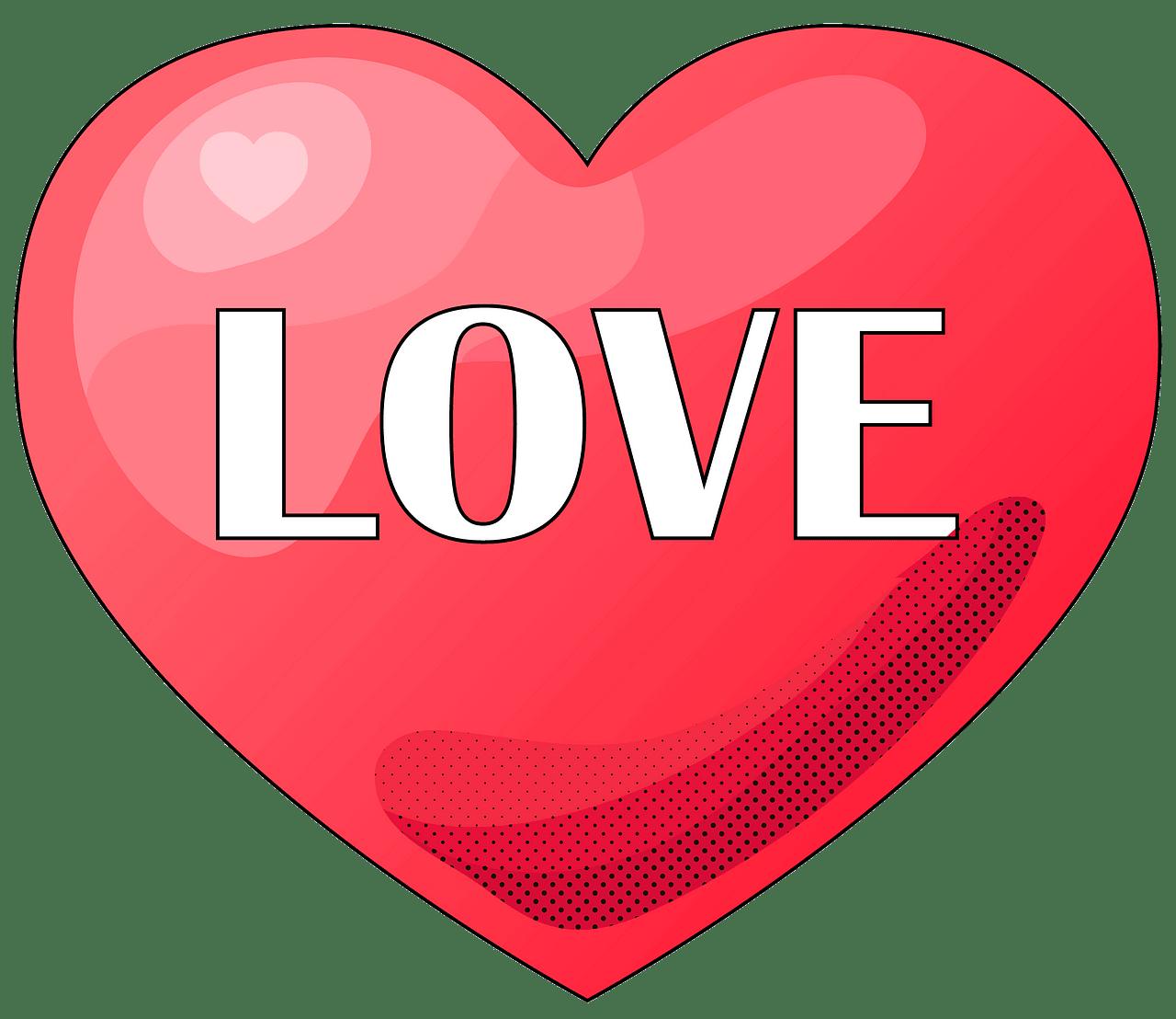 Kærlighed hjerte. Gratis download..