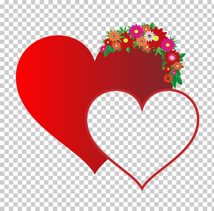 Heart Wedding , hjerterbryllup PNG clipart.