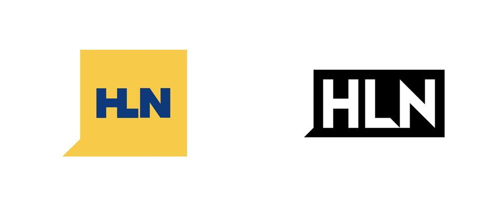 Brand New: New Logo for HLN.
