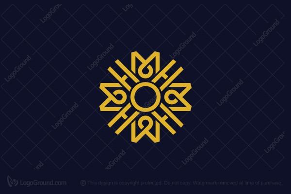 Exclusive Logo 179565, Hmh Mh Or Hm Logo.