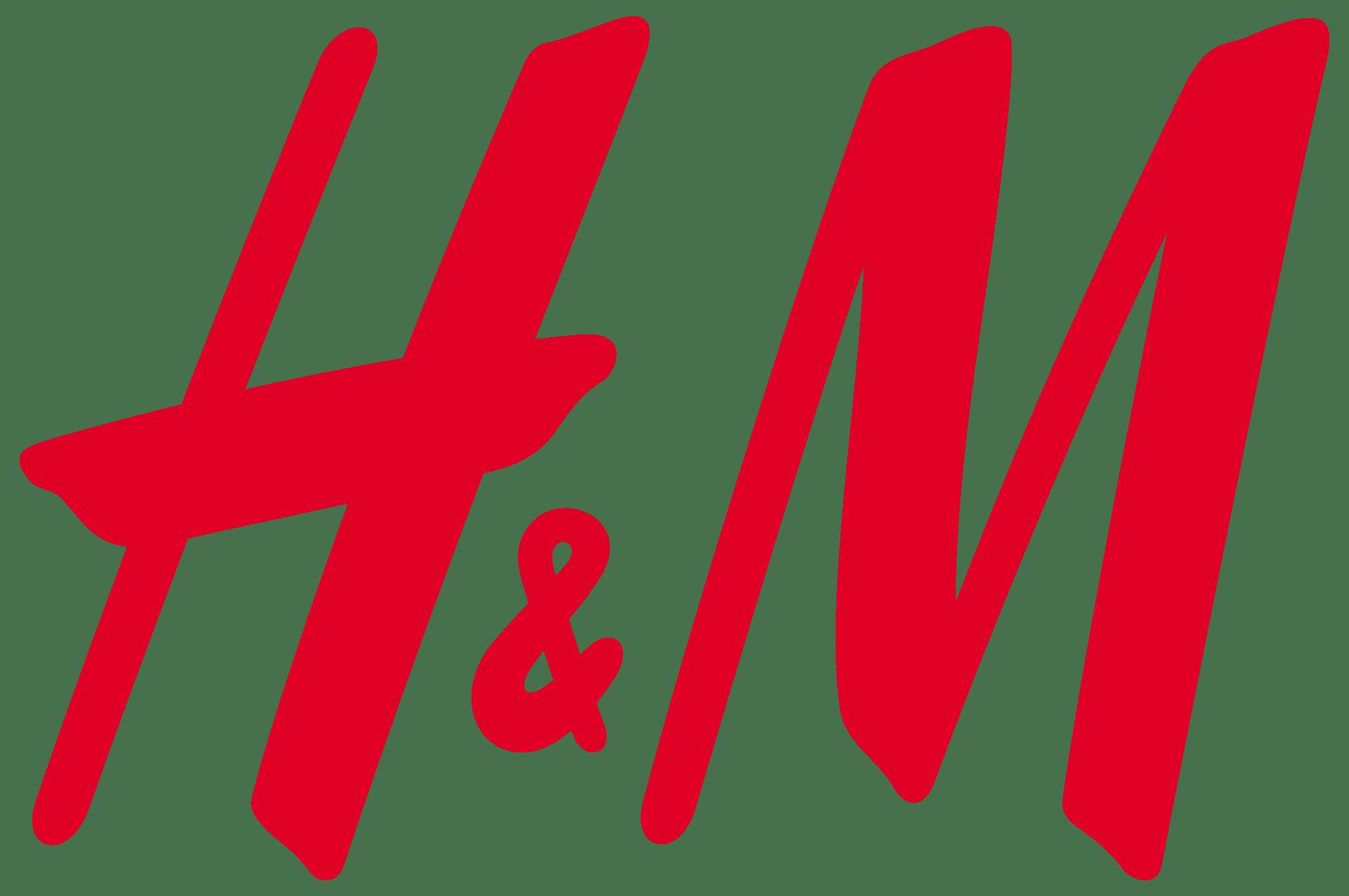 H&M Logo transparent PNG.