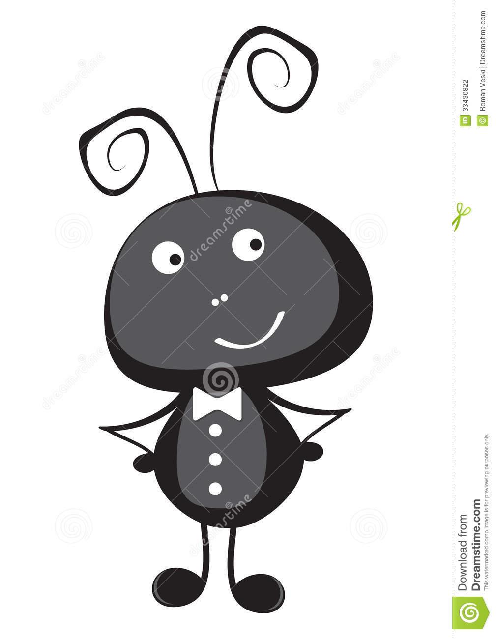 Cute Ant Clipart.