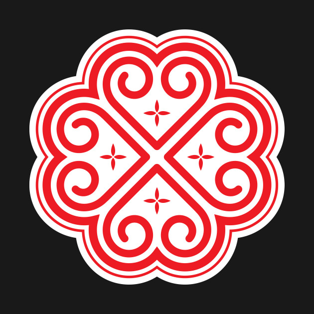 Hmong Red Hearts.