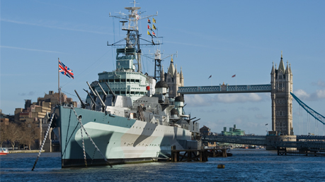 HMS Belfast Tickets 2FOR1 Offers.