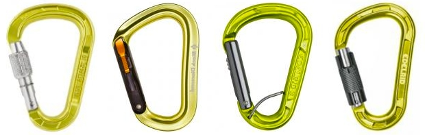 Get the Best Carabiner Shape for the Job.