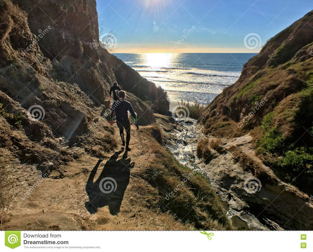 Surfers On Ho Chi Minh Trail Editorial Photography.