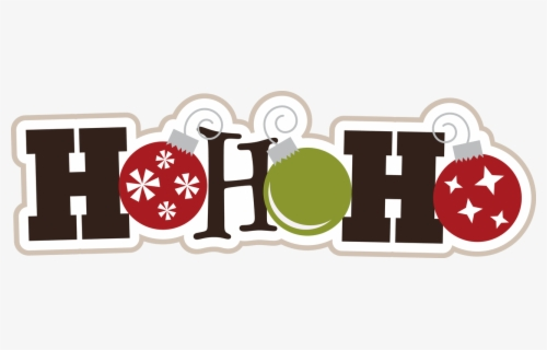 Free Ho Ho Ho Clip Art with No Background.