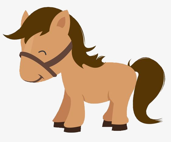 Horse, Horse Clipart, Pony, Brown PNG Transparent Image and Clipart.