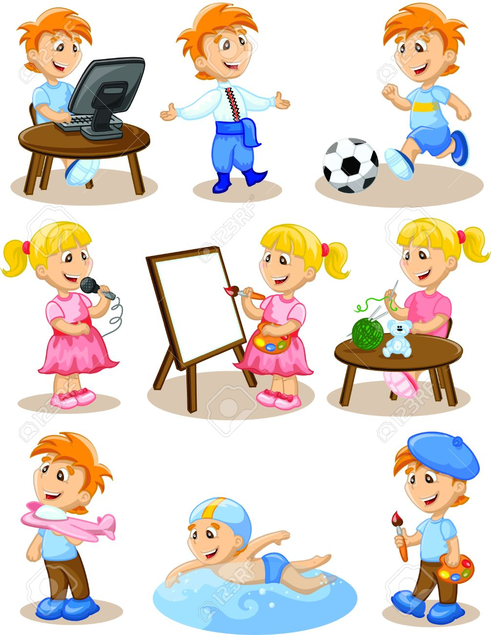 Hobbies clipart 12 » Clipart Station.