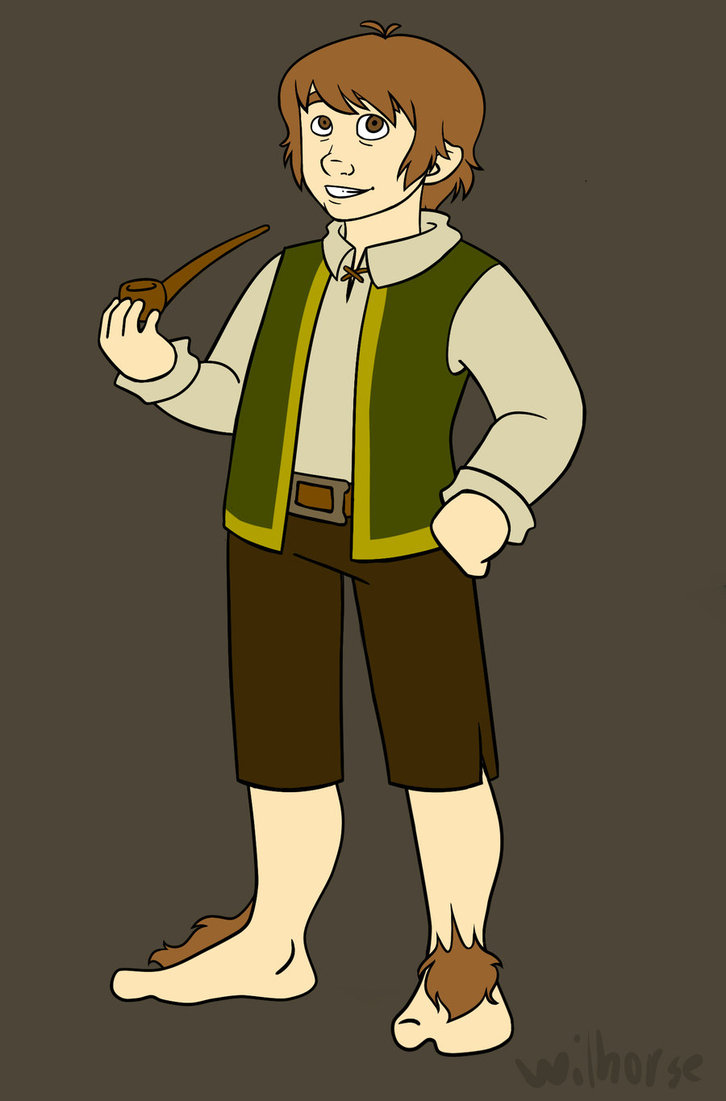 Clip Art From the Hobbit Bilbo.