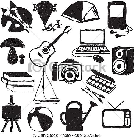 Hobbies Pictures Clip Art.