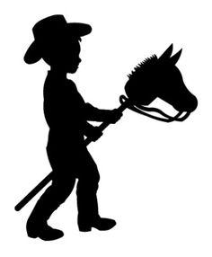 Hobby horse clipart.