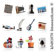 Hobby Clipart Royalty Free. 54,874 hobby clip art vector EPS.