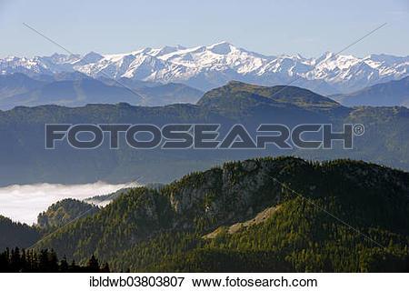 "Picture of ""Grossvenediger above Fellhornbahn from Hochfelln."
