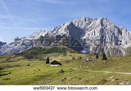 Picture of Austria, Salzburg State, Muehlbach, Hochkoenig mountain.