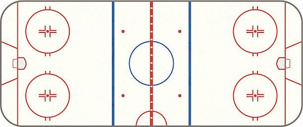 Best Ice Hockey Rink Illustrations, Royalty.