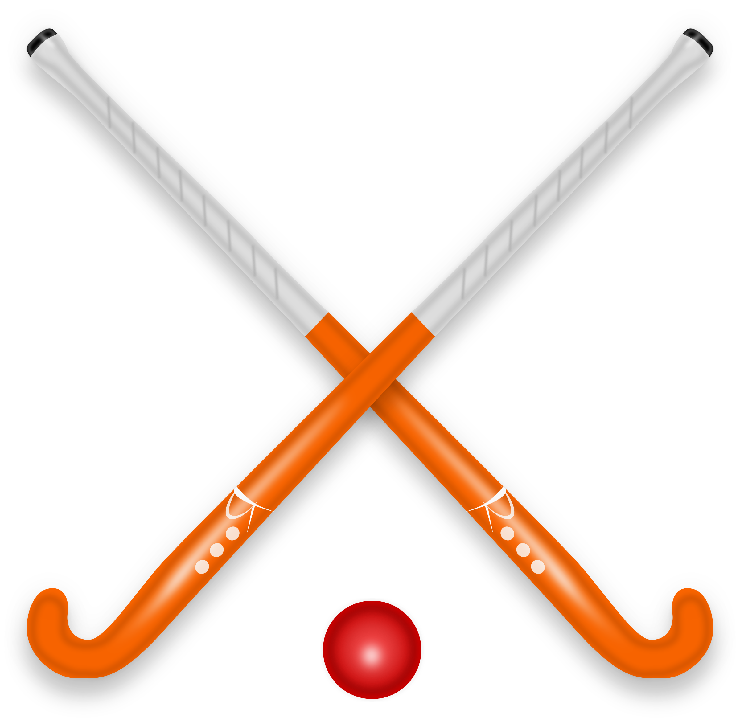Clipart hockey stick.