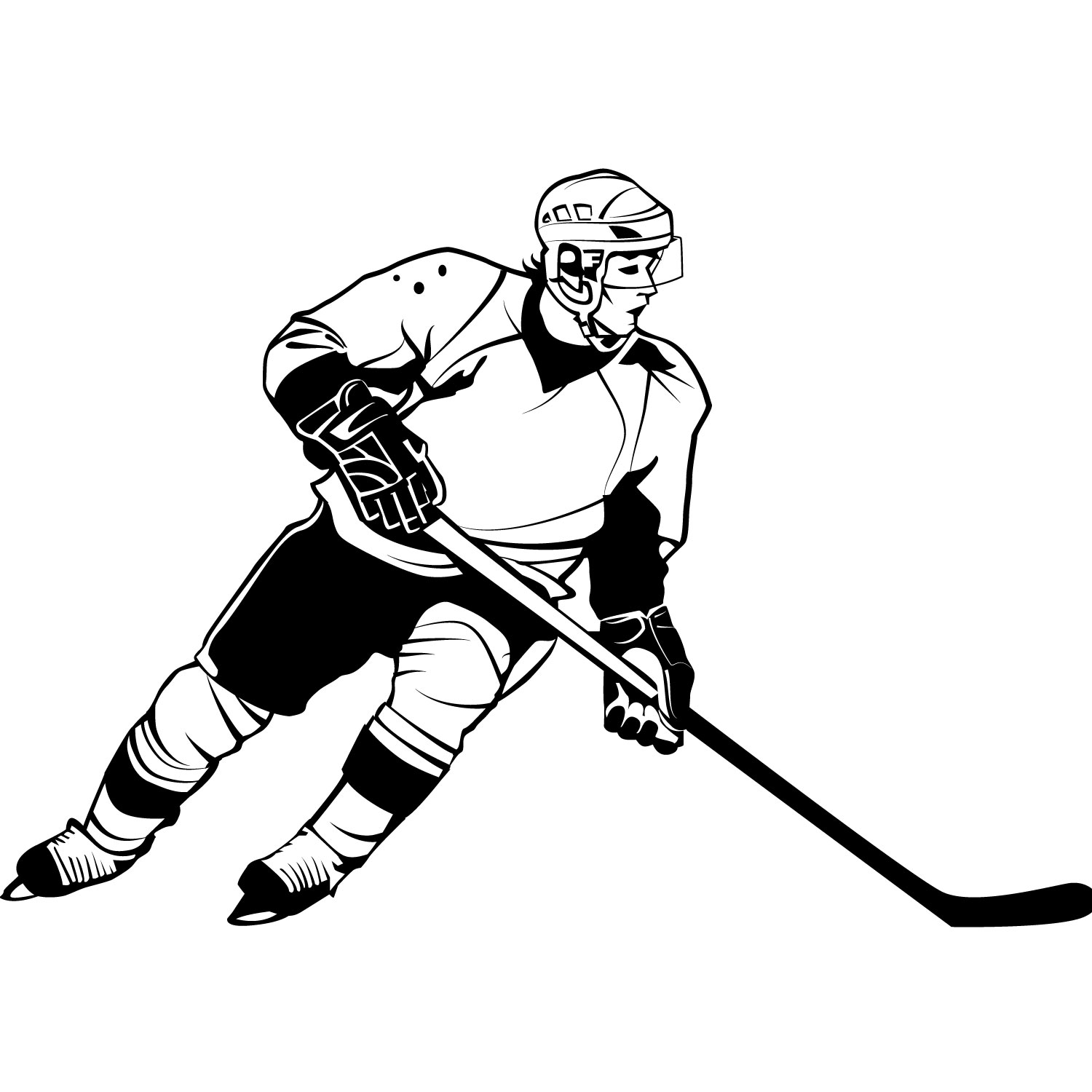 Hockey Clip Art Images Free.