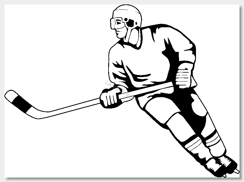 Hockey clip art images free clipart clipartix.