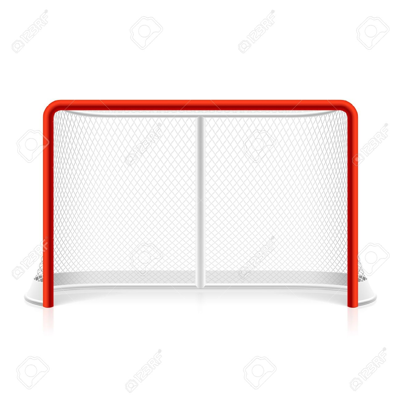 Hockey Goal Clipart.