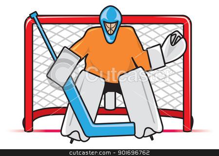 Canada Hockey Goal Clip Art.