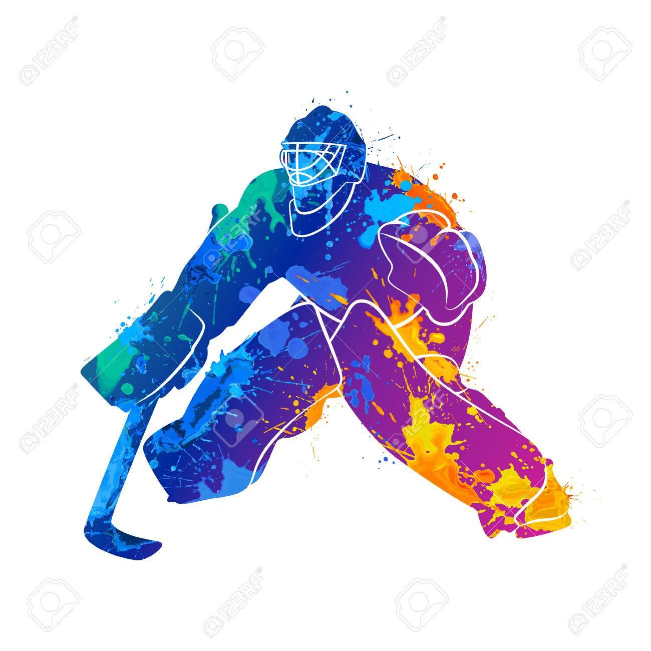 player hockey goalie.