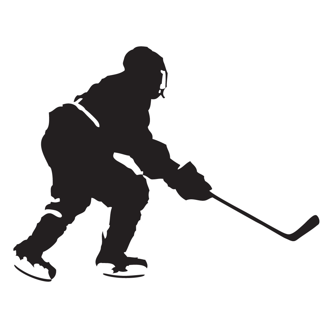 Hockey player clipart 5 » Clipart Station.