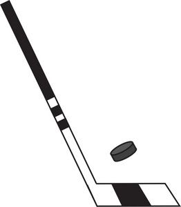 Hockey Clipart Image.