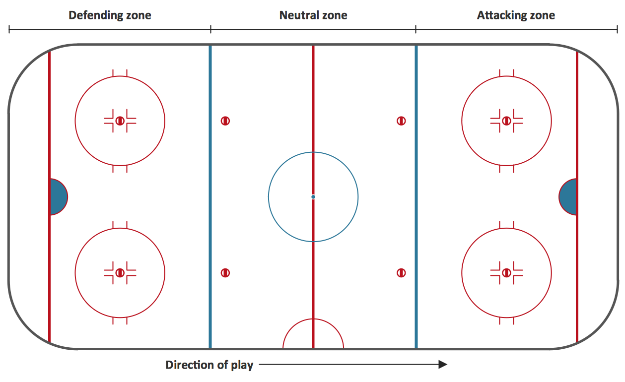 Ice Hockey Rink Clip Art.
