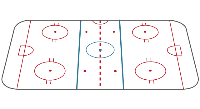 Ice Hockey Rink Dimensions.