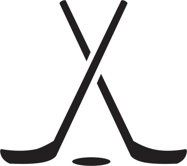 Hockey Stick Free Clipart.