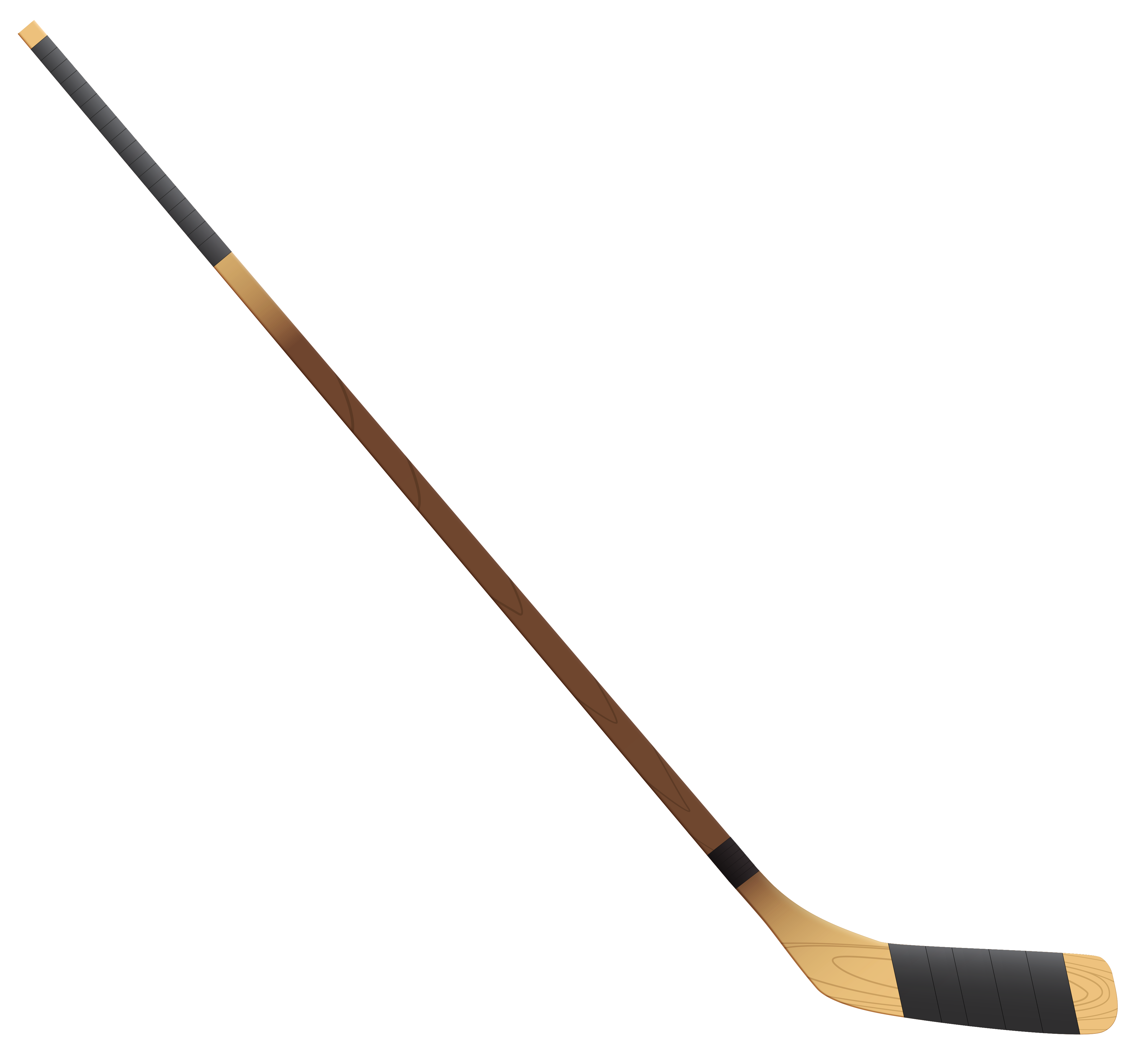Hockey Stick PNG Clipart Picture.