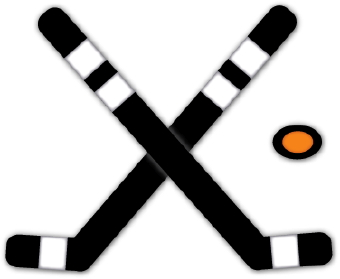 Hockey Stick Clipart Black And White.
